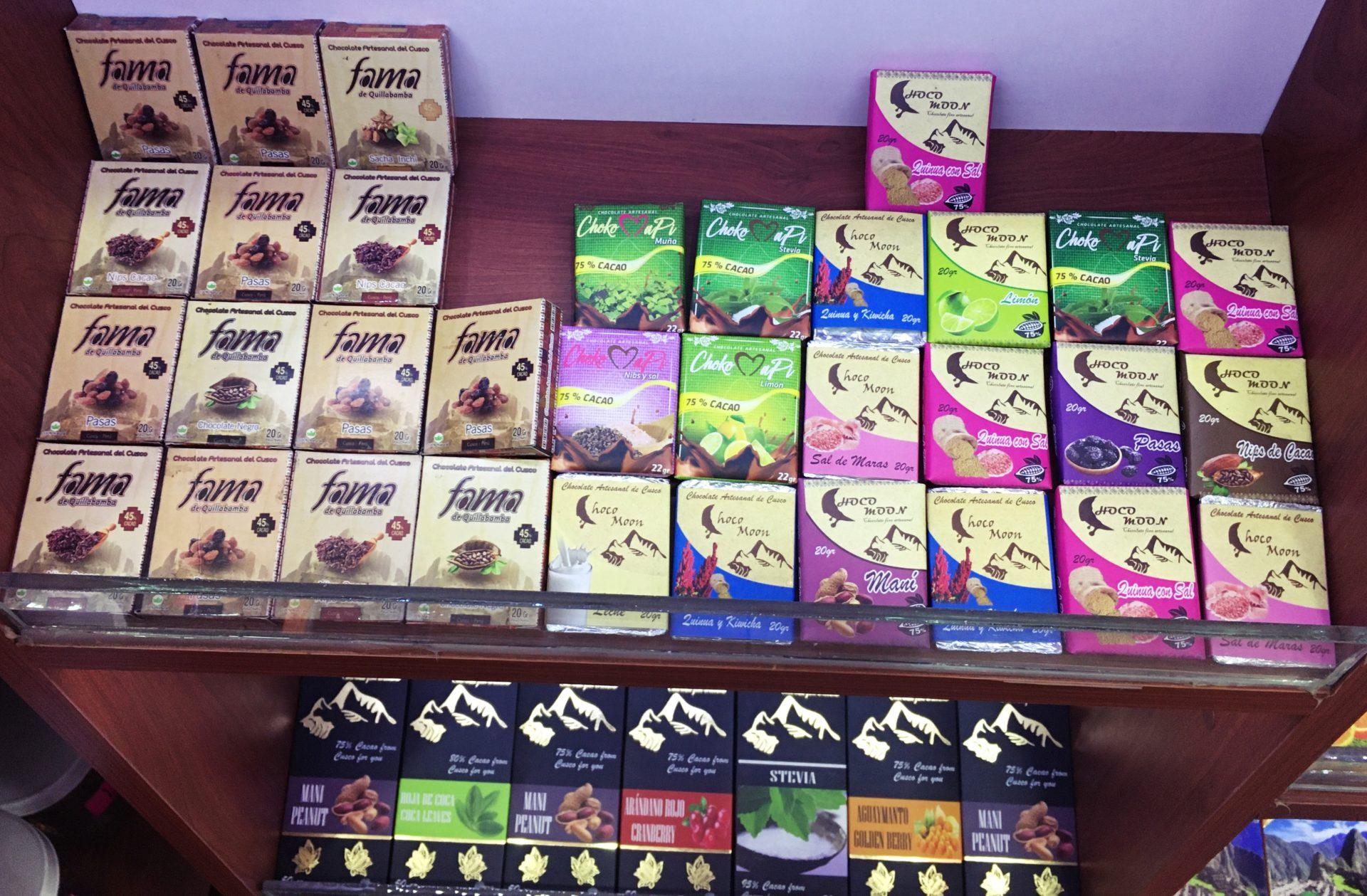 ペルー, クスコ, おいしい, チョコレート, お土産