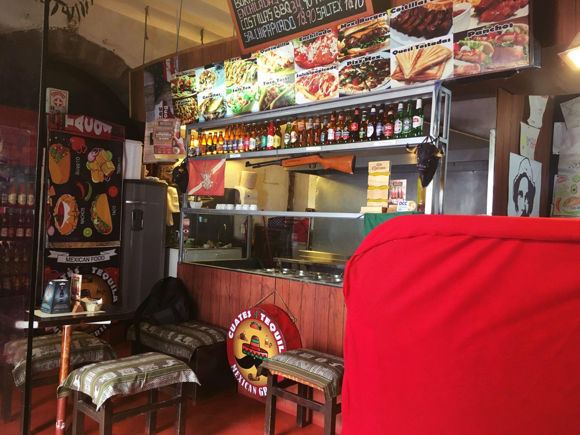 ペルー, クスコ, レストラン, メキシカン