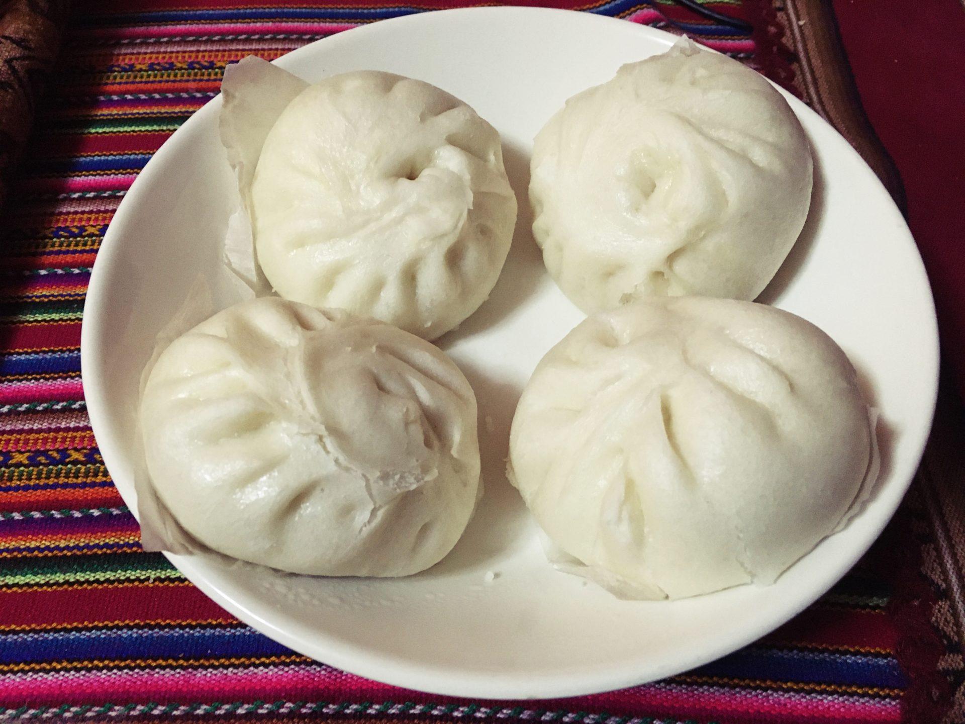 ペルー, クスコ, アジア, 食材, 中華まん, 肉まん