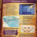ペルー・クスコのプールとサウナ施設 Sauna Spa IGUAZA y Piscina Sion