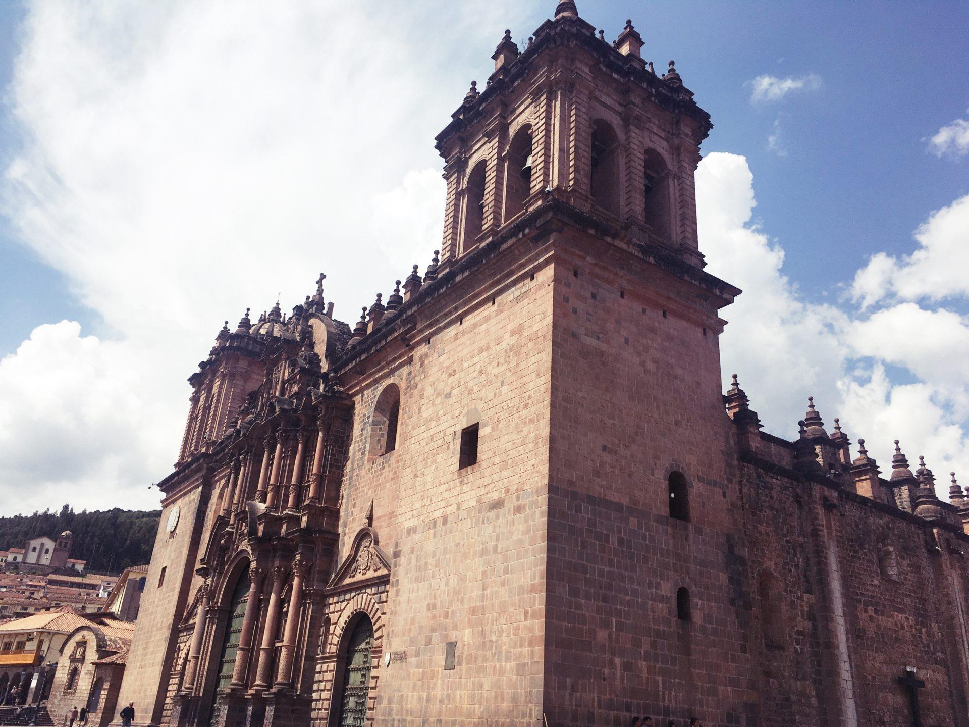 ペルー, クスコ, アルマス, 広場, Plaza, Armas, Cusco, Catedral, 大聖堂