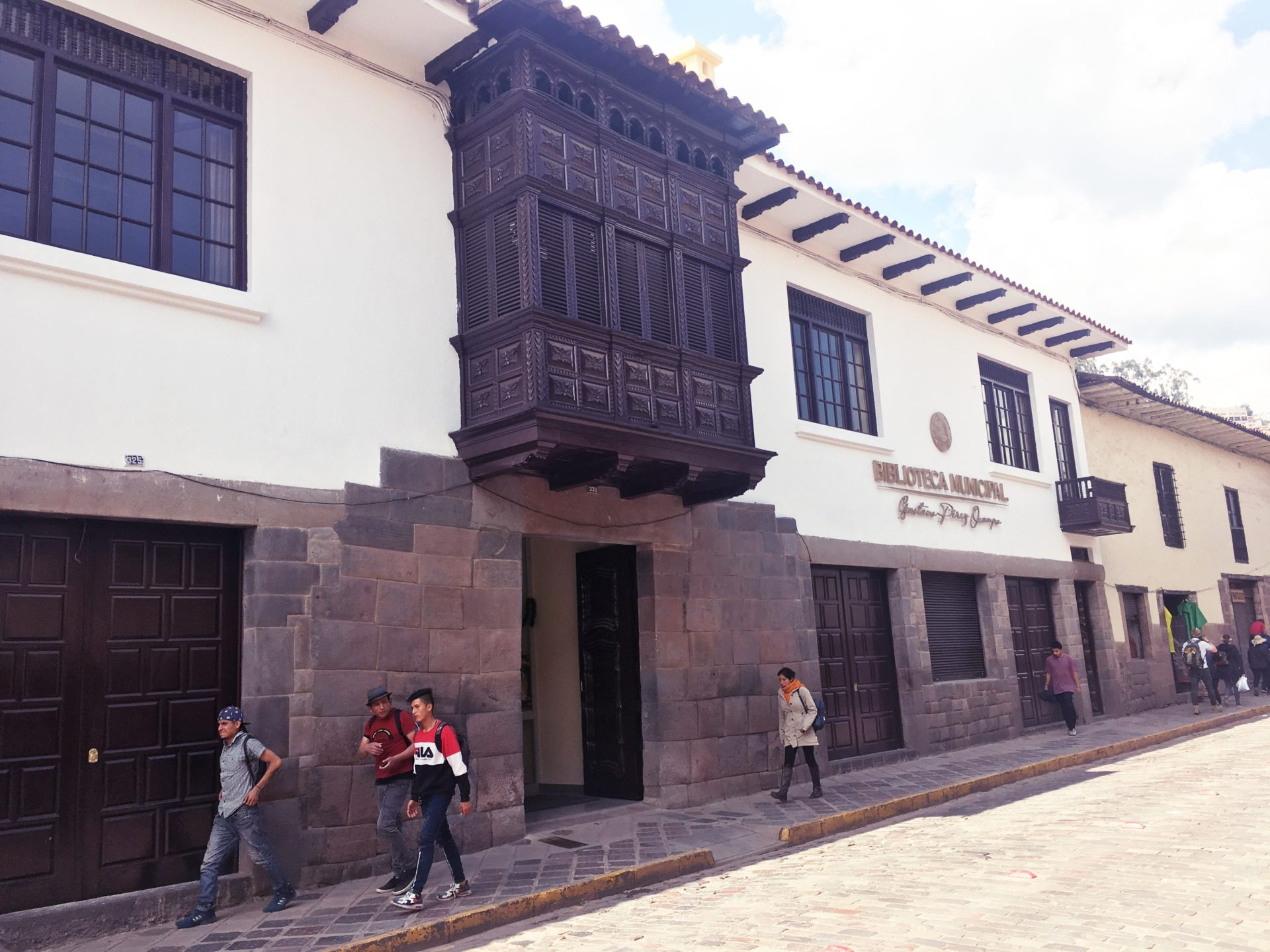 ペルー, クスコ, 図書館, Biblioteca, Cusco