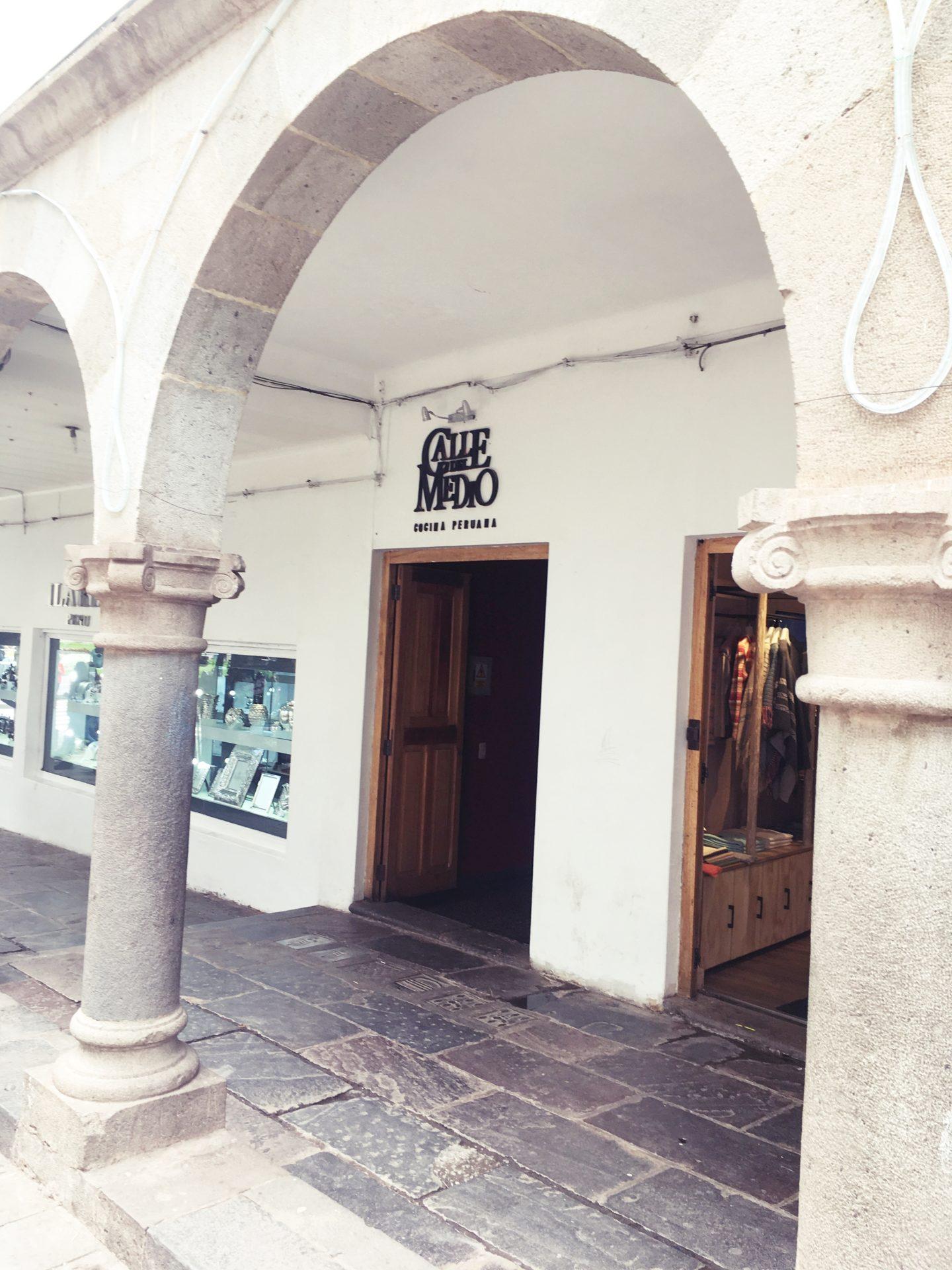 ペルー, クスコ, レストラン, Cusco, おすすめ, ペルー料理, Calle, Medio