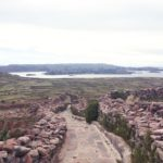 プーノ・チチカカ湖観光アマンタニ島 Amantaní Titicaca Puno の観光スポット Pachatata と Pachamama