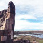 ペルー・プーノ観光シユスタニ・チュルパス遺跡 las Chullpas de Sillustani