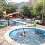 ペルー・クスコ Cusco から近いアプリマック Aprimac のコノック温泉 Baños Termales de Cconoc