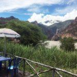 ペルー・クスコ Cusco から近いアプリマック Aprimac コノック温泉 Baños Termales de Cconoc のレストラン Sumaq Illari