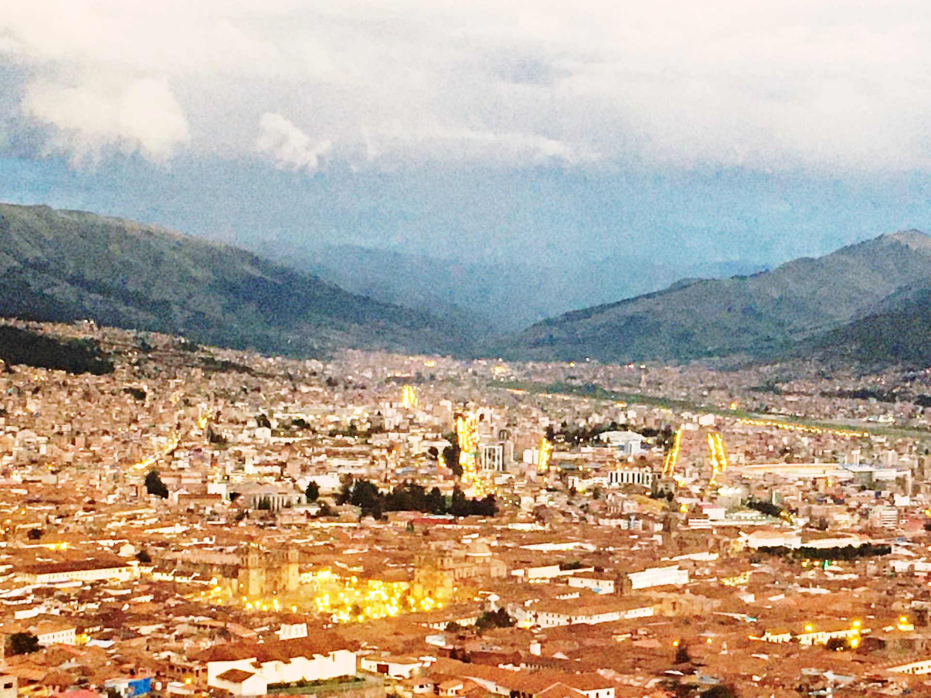 ペルー, クスコ, Cusco, アルマス, 広場, Plaza, Armas