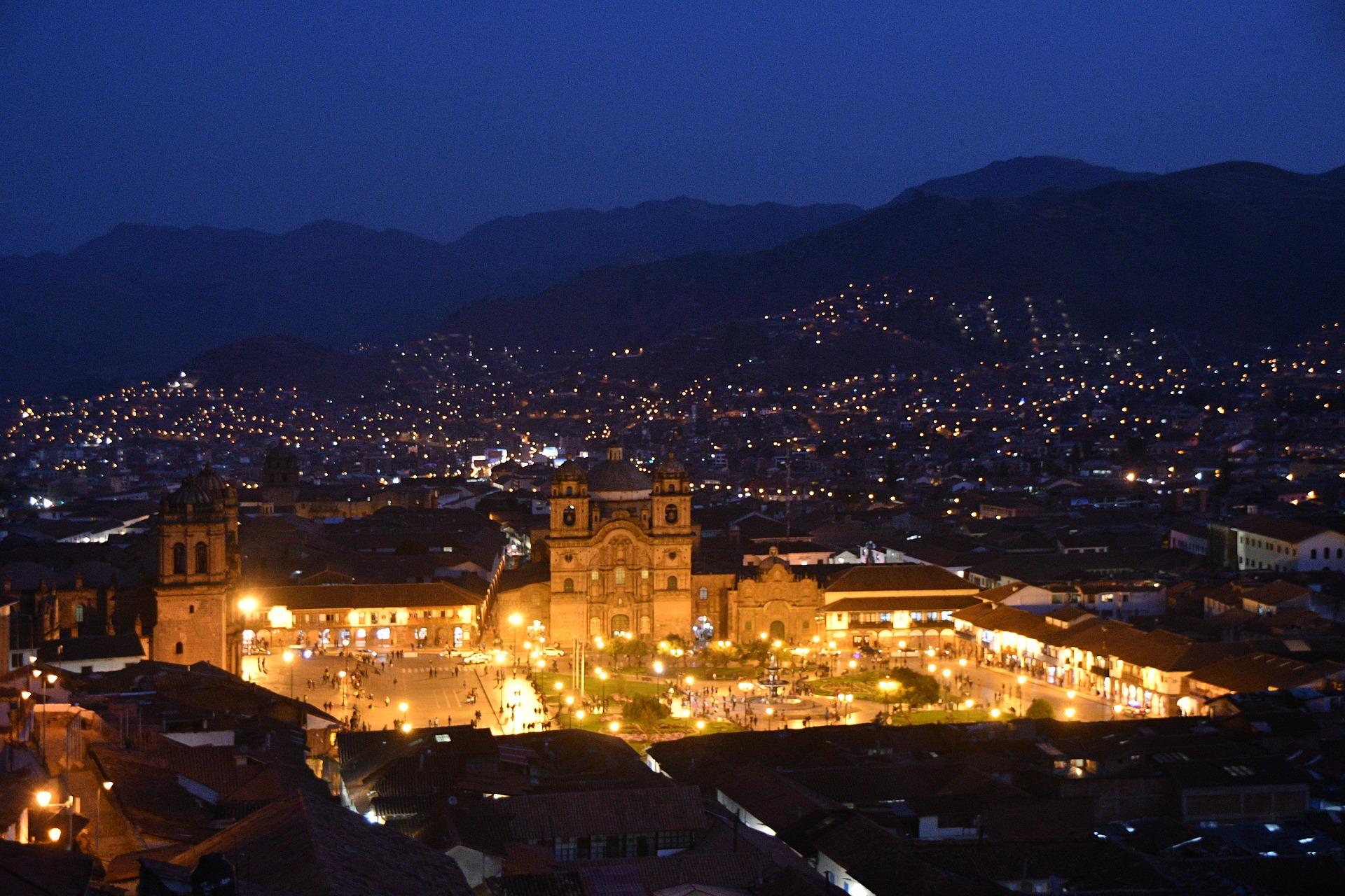ペルー, クスコ, アルマス, 広場, Plaza, Armas, Cusco
