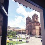 クスコ・アルマス広場おいしいコーヒーのカフェ Cappuccino Cusco