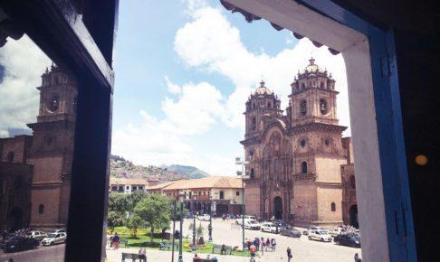 ペルー, クスコ, カフェ, Cusco, コーヒー, カプチーノ