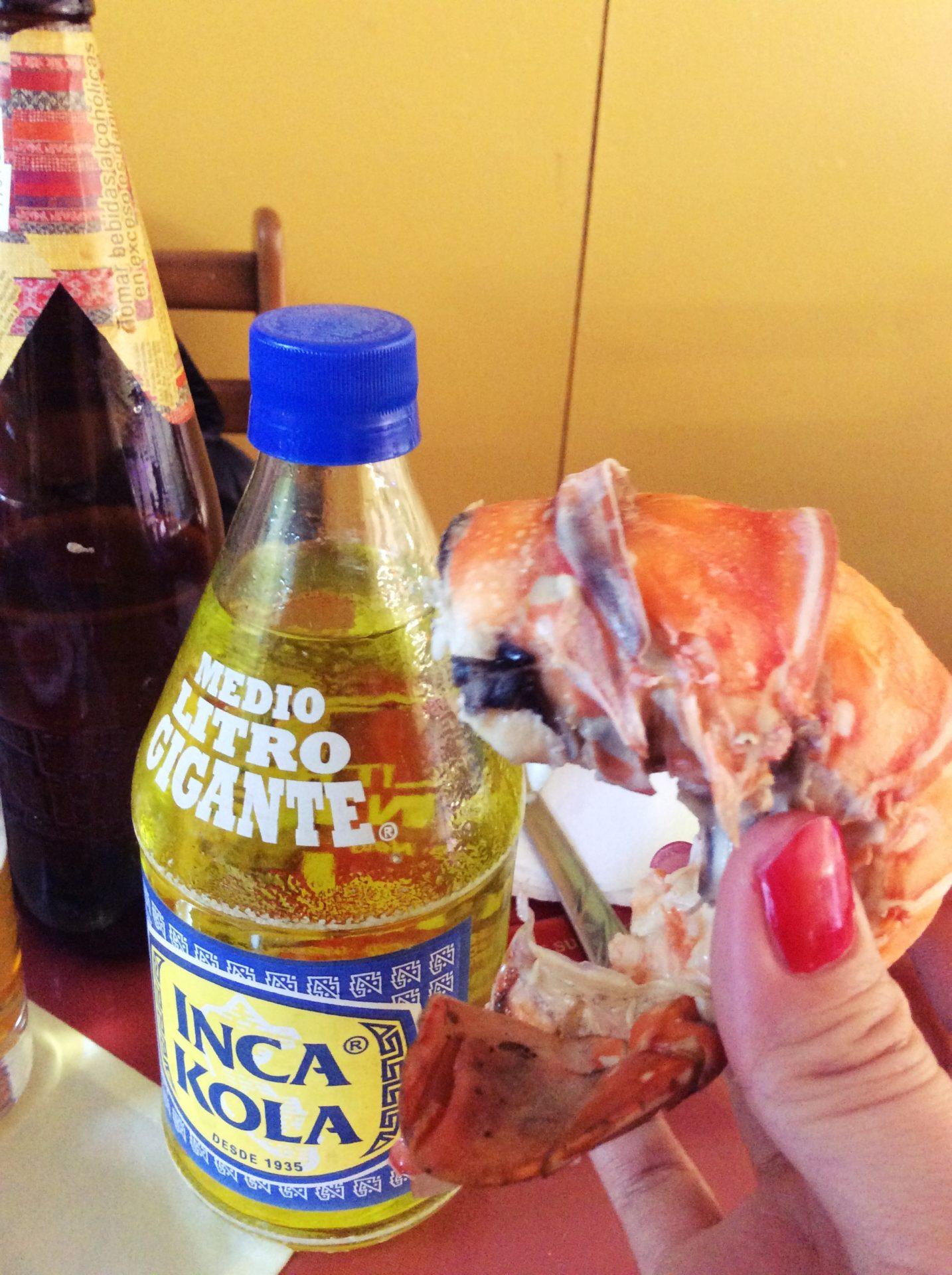 ペルー, ペルー料理, インカコーラ, Inca Cola, 飲み物