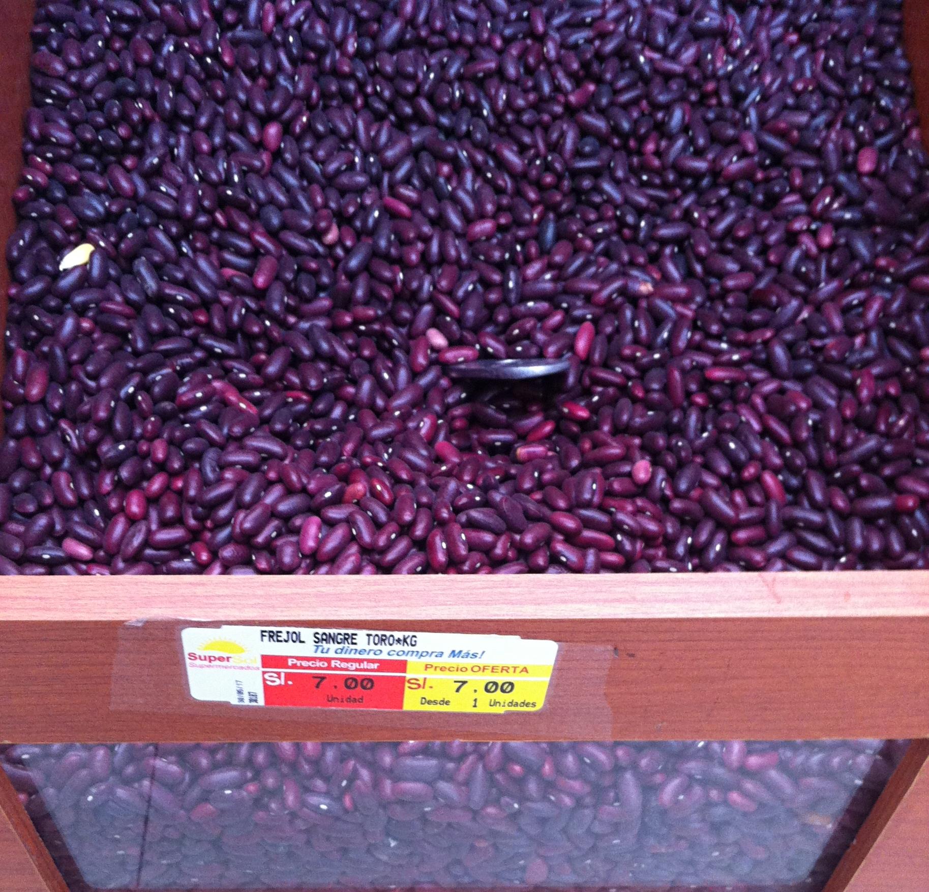 ペルー, アンデス, クスコ, 一般的, 乾物, 豆, 種類, 値段