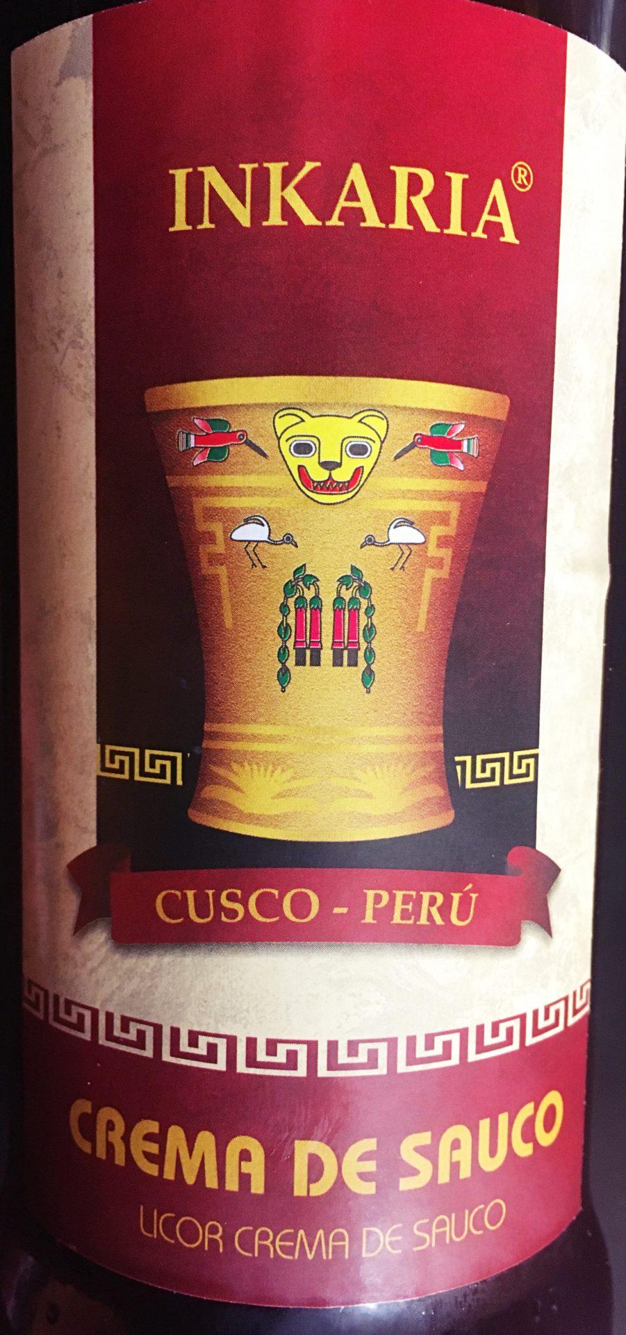 ペルー, クスコ, 酒, INKARIA, Saúco, サウコ, Elderberry, エルダーベリー