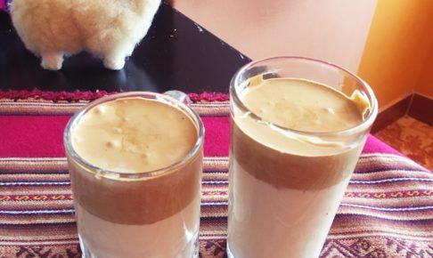 ダルゴナコーヒー, ペルー, 麦, カフェ, cebada, 豆乳, レシピ