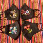 ペルー・クスコの刺繍入りのかわいいマスク!現在のクスコの様子